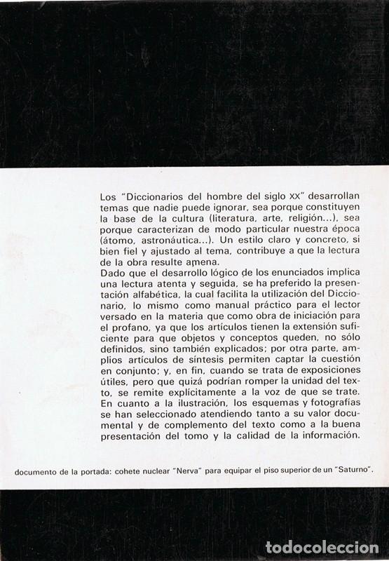 Libros de segunda mano: DICCIONARIO DE LA ASTRONAUTICA THOMAS DE GALIANA - Foto 2 - 173132897