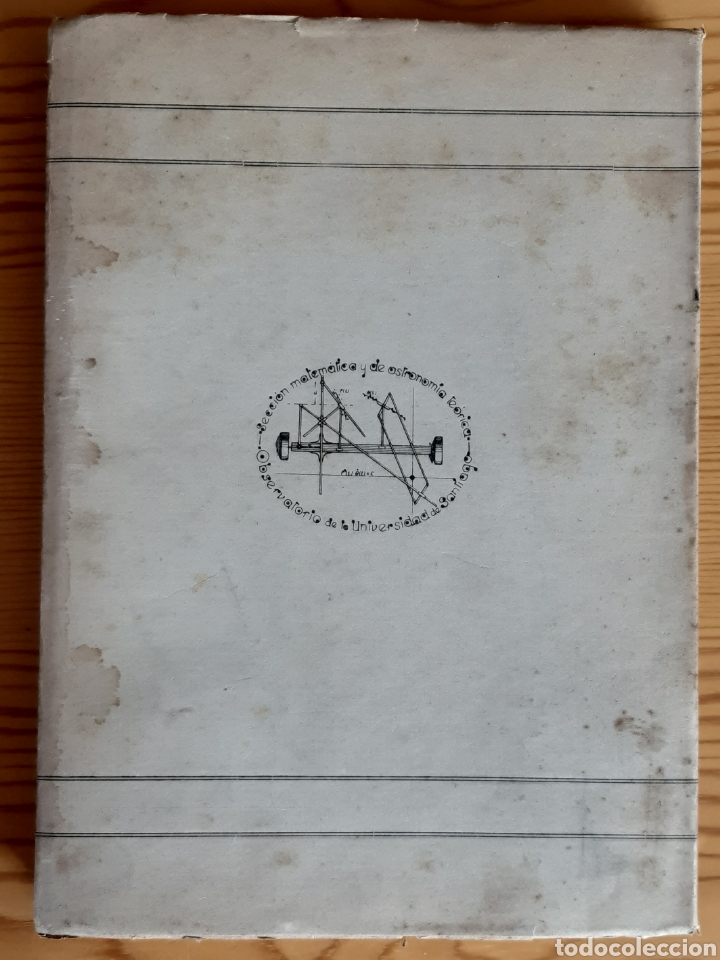 Libros de segunda mano: CÁLCULO DE ÓRBITAS DE ESTRELLAS DOBLES VISUALES (VIDAL ABASCAL, 1953) SIN USAR. - Foto 2 - 175961344
