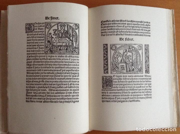Libros de segunda mano: Granollachs - LUNARI. Edició de 1513. Reproducció facsímil de lexemplar - Barcelona 1948 - - Foto 4 - 177945102