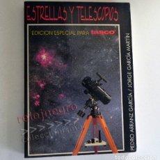 Libros de segunda mano: ESTRELLAS Y TELESCOPIOS - LIBRO ASTRONOMÍA GUÍA - PRISMÁTICOS FOTOGRAFÍA ESTELAR ASTROFOTOGRAFÍA ETC. Lote 178899407