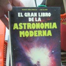 Libros de segunda mano: EL GRAN LIBRO DE LA ASTRONOMÍA MODERNA, RENATO MIGLIAVACCA, J.MªOLIVIER. ART.548-275. Lote 179229296