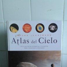 Libros de segunda mano: ATLAS DEL CIELO, UN VIAJE ENTRE ESTRELLAS Y PLANETAS PARA CONOCER EL CIELO, EDITA SUSAETA. Lote 179523870