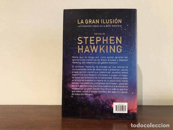 Libros de segunda mano: La gran ilusión. Las grandes obras de Alvbert Einstein. Stephen Hawking. Edit. Crítica. Nuevo - Foto 3 - 180033371