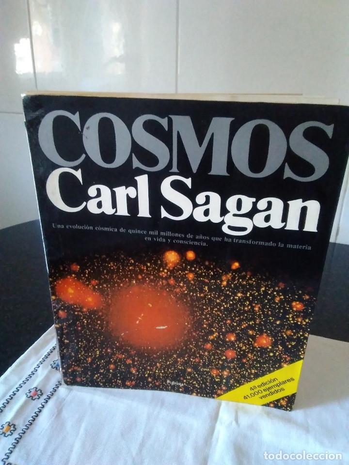 72-COSMOS, CARL SAGAN, 1982 (Libros de Segunda Mano - Ciencias, Manuales y Oficios - Astronomía)