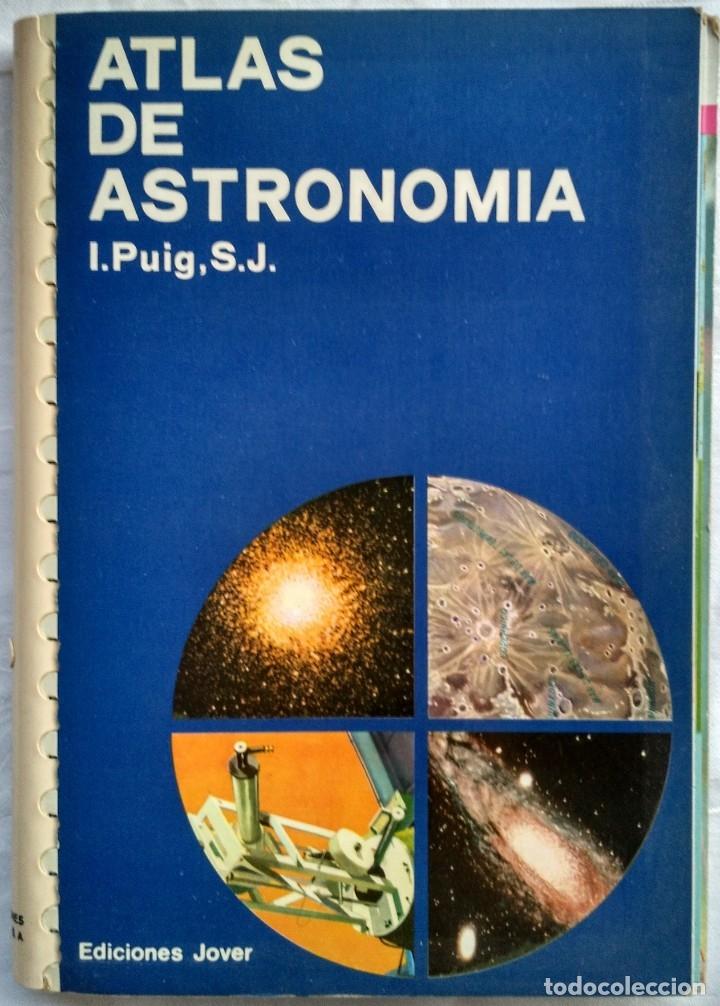 ATLAS DE ASTRONOMIA. I. PUIG, S.J. (Libros de Segunda Mano - Ciencias, Manuales y Oficios - Astronomía)