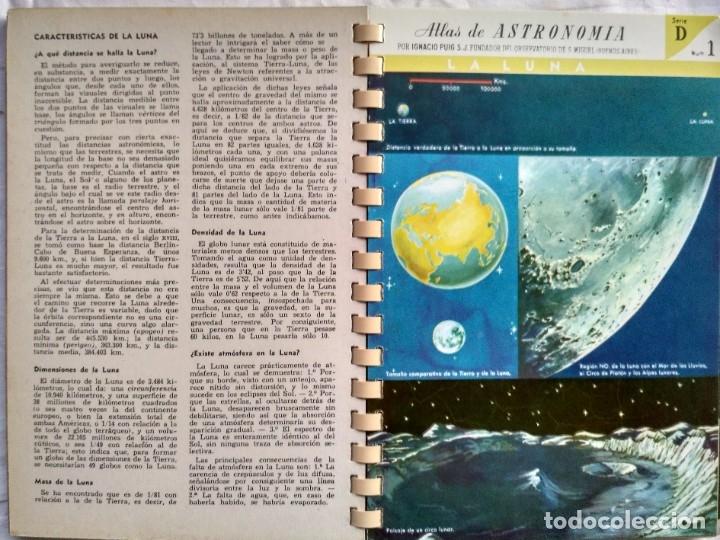Libros de segunda mano: ATLAS DE ASTRONOMIA. I. PUIG, S.J. - Foto 2 - 182414173
