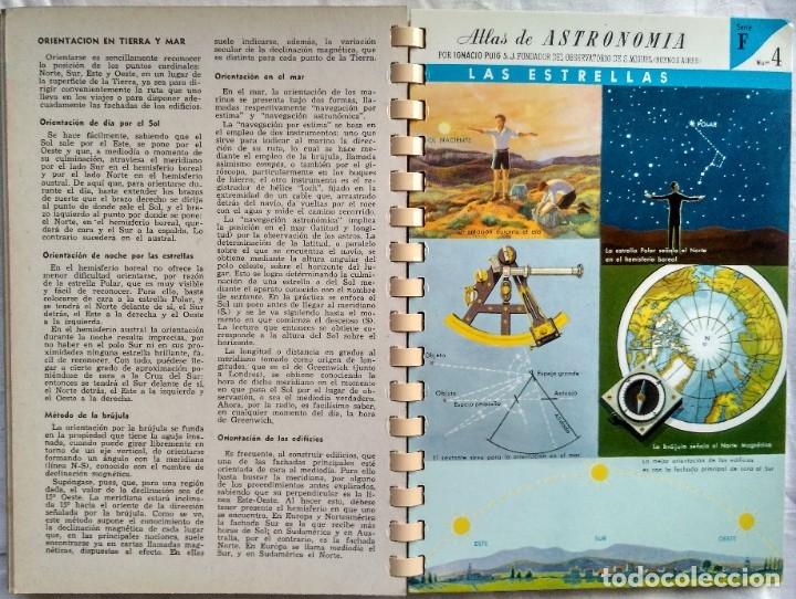 Libros de segunda mano: ATLAS DE ASTRONOMIA. I. PUIG, S.J. - Foto 4 - 182414173