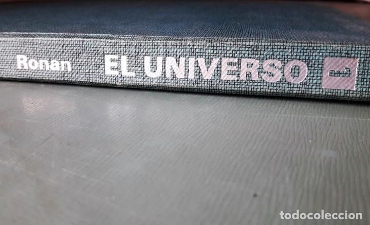 Libros de segunda mano: EL UNIVERSO. (COLIN RONAN, P. & J. 1ª edición, 1.969) - Foto 3 - 183958898