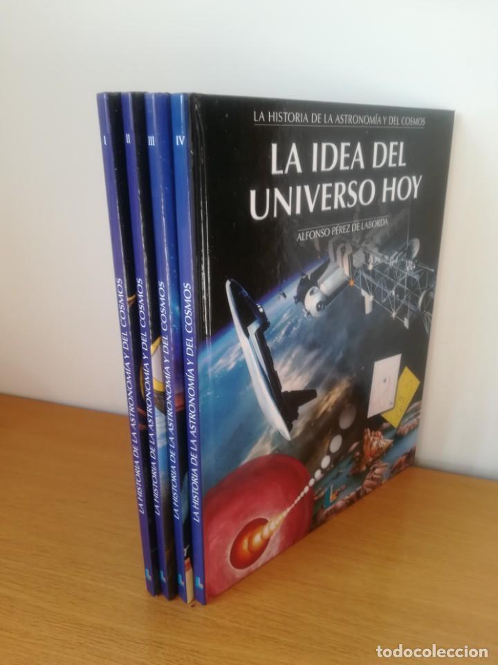 HISTORIA DE LA ASTRONOMÍA Y DEL COSMOS. ALFONSO PÉREZ DE LABORDA. (Libros de Segunda Mano - Ciencias, Manuales y Oficios - Astronomía)