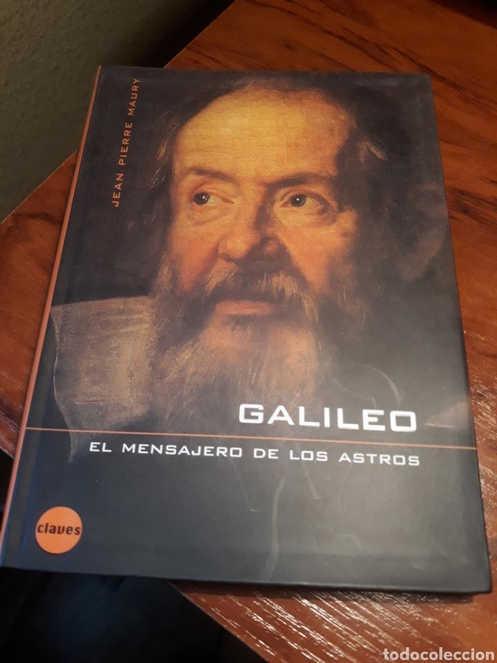 GALILEO , EL MENSAJERO DE LOS ASTROS . JEAN PIERRE MAURY (Libros de Segunda Mano - Ciencias, Manuales y Oficios - Astronomía)