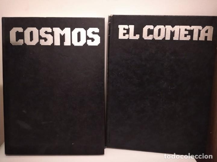 LOTE DE 2 LIBROS DE CARL SAGAN: COSMOS Y EL COMETA (Libros de Segunda Mano - Ciencias, Manuales y Oficios - Astronomía)