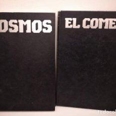 Libros de segunda mano: LOTE DE 2 LIBROS DE CARL SAGAN: COSMOS Y EL COMETA. Lote 190778732