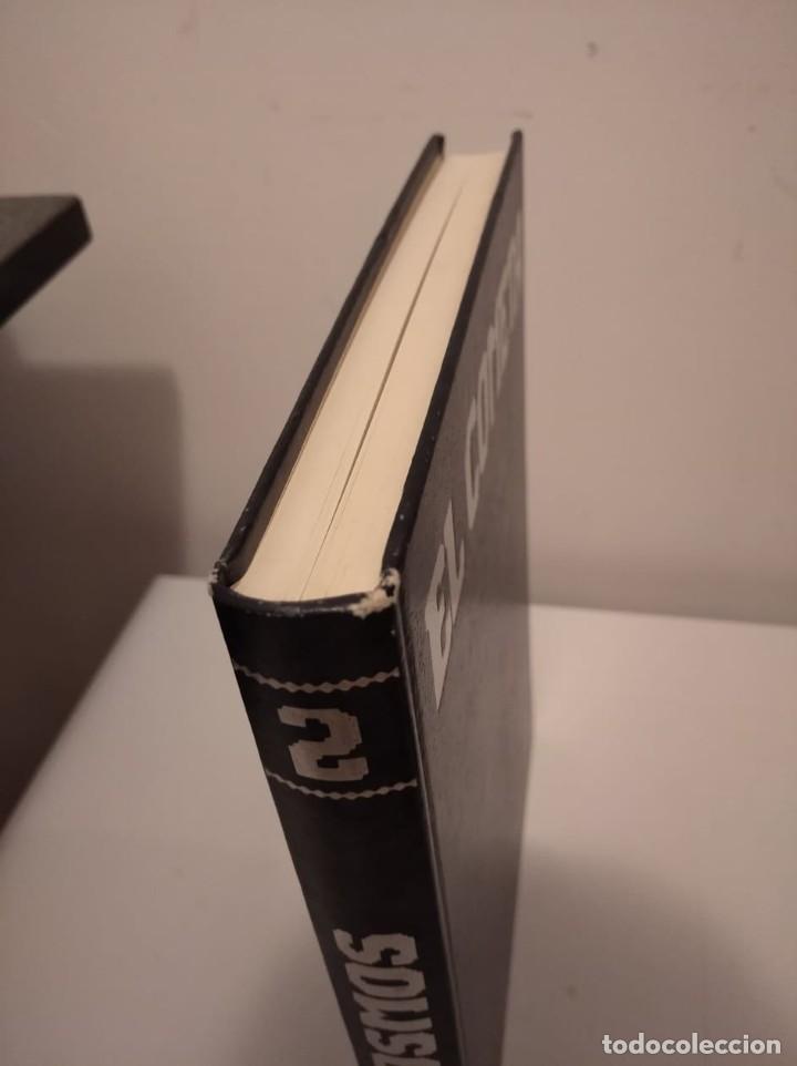 Libros de segunda mano: LOTE DE 2 LIBROS DE CARL SAGAN: COSMOS Y EL COMETA - Foto 3 - 190778732