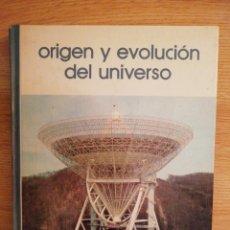 Libros de segunda mano: 2X1 ORIGEN Y EVOLUCIÓN DEL UNIVERSO. RAMÓN CANAL Y RAMÓN LAPIEDRA. BIBLIOTECA SALVAT GRANDES TEMAS.. Lote 191792300