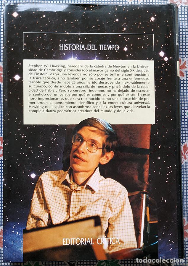 Libros de segunda mano: Historia del tiempo - Stephen W. Hawking - Foto 2 - 192247683