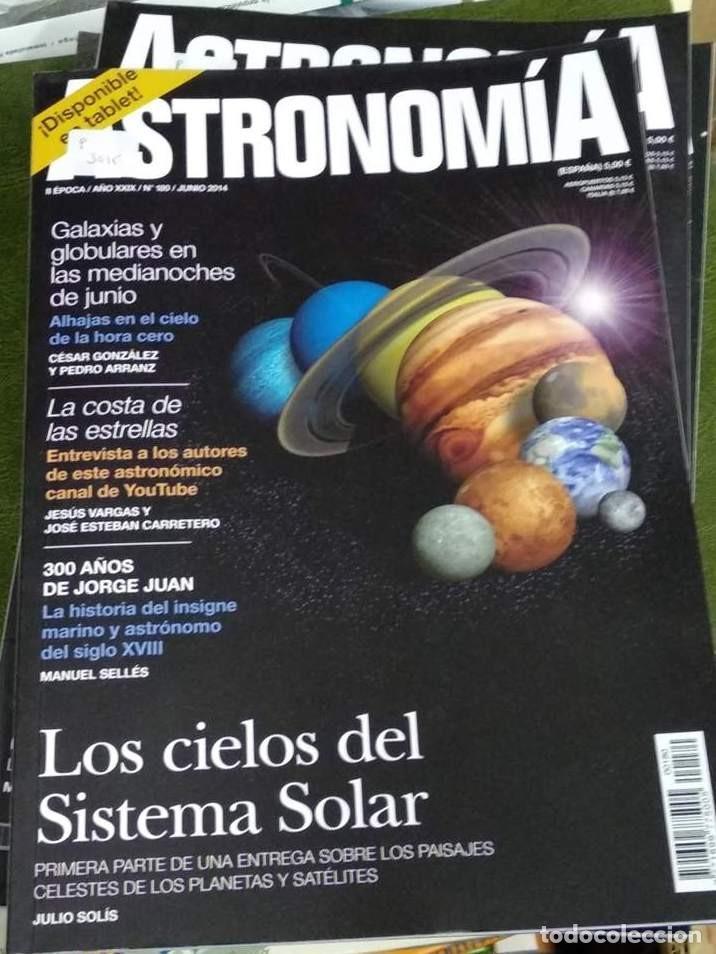Libros de segunda mano: Revistas ASTRONOMÍA. Tribuna de Astronomía. II ÉPOCA. casi completa nº 1 al 186. (PRECIO POR UNIDAD) - Foto 2 - 192973312