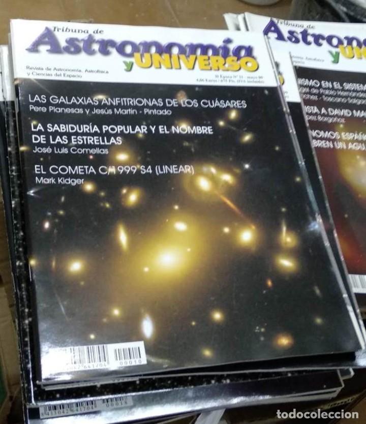 Libros de segunda mano: Revistas ASTRONOMÍA. Tribuna de Astronomía. II ÉPOCA. casi completa nº 1 al 186. (PRECIO POR UNIDAD) - Foto 11 - 192973312