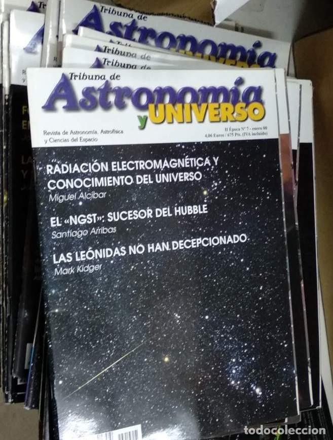Libros de segunda mano: Revistas ASTRONOMÍA. Tribuna de Astronomía. II ÉPOCA. casi completa nº 1 al 186. (PRECIO POR UNIDAD) - Foto 12 - 192973312