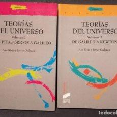 Libros de segunda mano: TEORIAS DEL UNIVERSO I Y II IMPECABLES. Lote 194143875