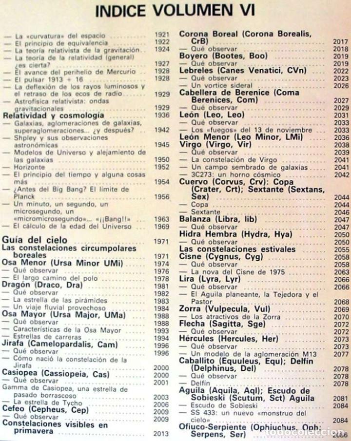Libros de segunda mano: ENCICLOPEDIA SARPE DE LA ASTRONOMÍA - COMPLETA - 1982 - 2687 PÁGINAS - VER ÍNDICES Y FOTOS - Foto 8 - 194192977