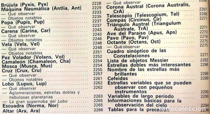 Libros de segunda mano: ENCICLOPEDIA SARPE DE LA ASTRONOMÍA - COMPLETA - 1982 - 2687 PÁGINAS - VER ÍNDICES Y FOTOS - Foto 10 - 194192977