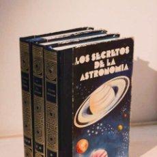 Libros de segunda mano: LOS SECRETOS DE LA ASTRONOMÍA (TOMOS I, II Y III). Lote 183883330