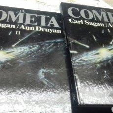 Libros de segunda mano: EL COMETA. CARL SAGAN Y ANN DRUYAN. I Y II. Lote 195109876