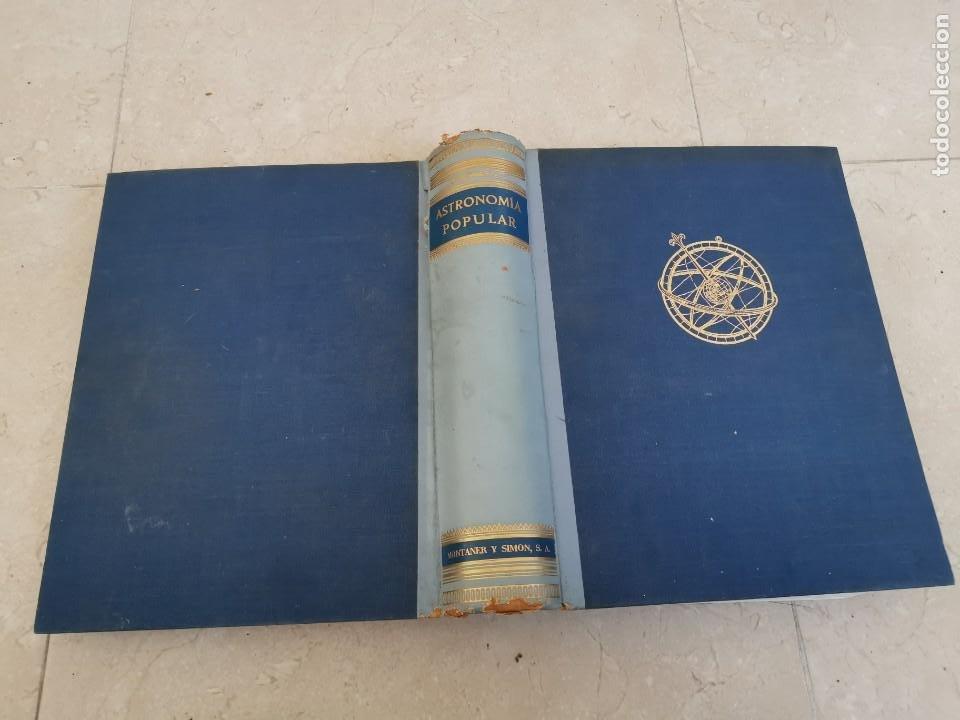 ENORME TOMO ASTRONOMÍA POPULAR CAMILLE FLAMMARION MONTANER Y SIMON 1963 PISIBLE RECOGIDA EN MALLORCA (Libros de Segunda Mano - Ciencias, Manuales y Oficios - Astronomía)