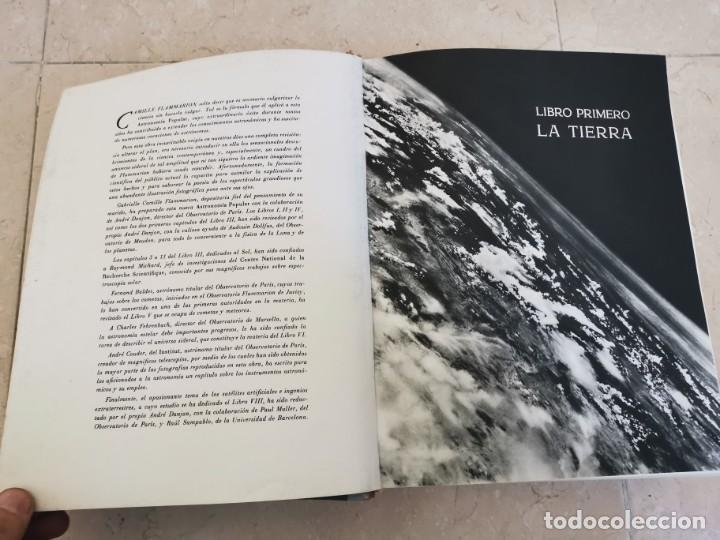 Libros de segunda mano: ENORME TOMO ASTRONOMÍA POPULAR CAMILLE FLAMMARION MONTANER Y SIMON 1963 PISIBLE RECOGIDA EN MALLORCA - Foto 4 - 195287360