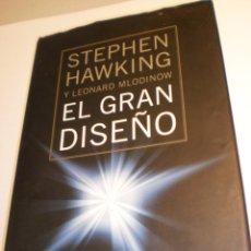 Libros de segunda mano: STEPHEN HAWKING Y LEONARD MLODINOW. EL GRAN DISEÑO. CÍRCULO L. 2011 TAPA DURA 228 PÁG (BUEN ESTADO). Lote 197910327