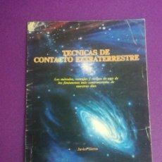 Libros de segunda mano: TÉCNICAS DE CONTACTO EXTRATERRESTRE - JAVIER SIERRA - HEPTADA. Lote 199036047