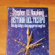 Livros em segunda mão: HAWKING, STEPHEN W. HISTORIA DEL TIEMPO : DEL BIG BANG A LOS AGUJEROS NEGROS (EL LIBRO DE BOLSILLO ;. Lote 199924302
