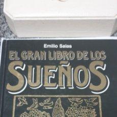 Libros de segunda mano: EL GRAN DICCIONARIO DE LOS SUEÑOS EMILIO.SALAS. Lote 199995733