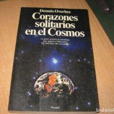 Libros de segunda mano: CORAZONES SOLITARIOS EN EL COSMOS. Lote 202333746