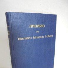Libros de segunda mano: ANUARIO DEL OBSERVATORIO ASTRONOMICO DE MADRID 1946. INSTITUTO GEOGRAFICO Y CATASTRAL. Lote 202584616