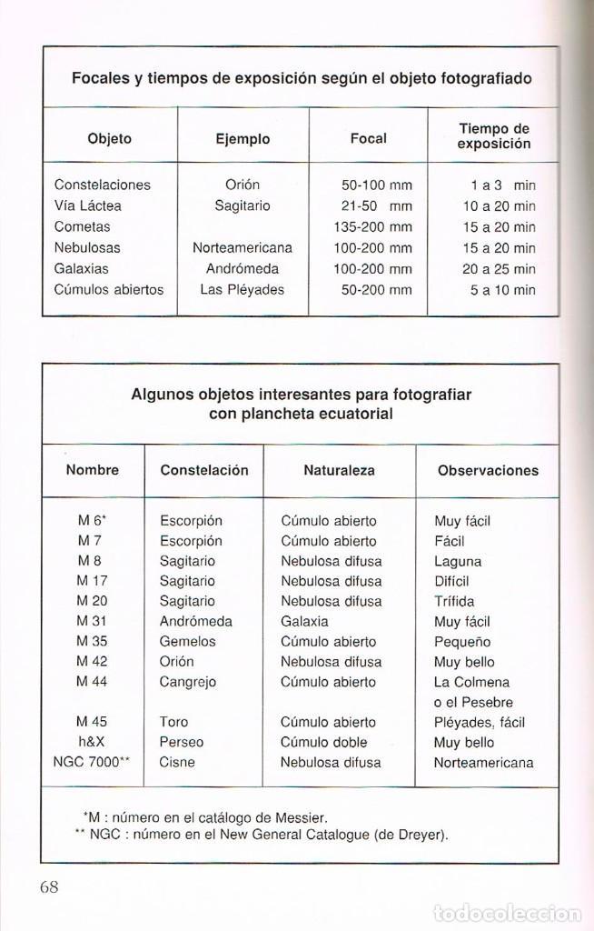 Libros de segunda mano: Manual de observacion y fotografia astronomica (Jean Lacroux y Denis Berthier), ver indice - Foto 2 - 202877668