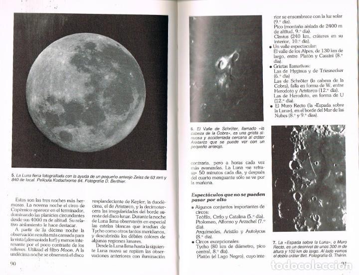 Libros de segunda mano: Manual de observacion y fotografia astronomica (Jean Lacroux y Denis Berthier), ver indice - Foto 4 - 202877668