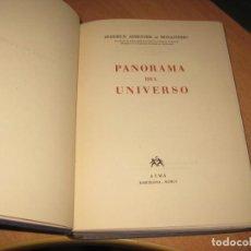 Libros de segunda mano: PANORAMA DEL UNIVERSO FEDERICO ARMENTER. Lote 203385716