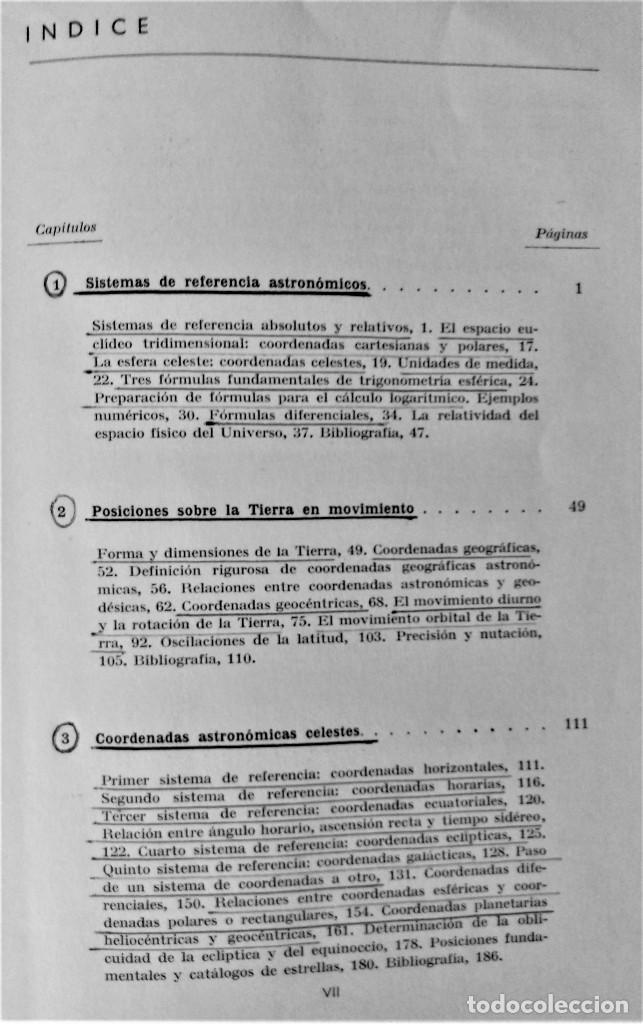 Libros de segunda mano: ASTRONOMÍA DE POSICIÓN - TEODORO J.VIVES - EDITORIAL ALHAMBRA - Foto 5 - 205006887
