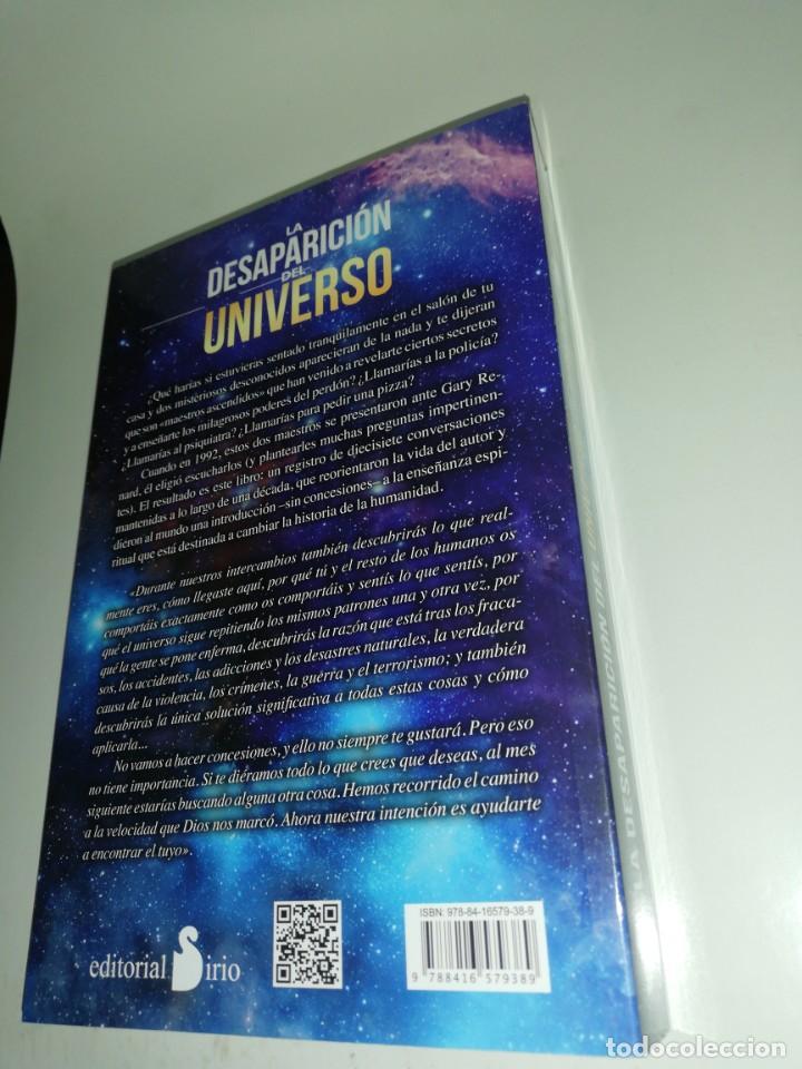 Libros de segunda mano: LA DESAPARICION DEL UNIVERSO - GARY R.RENARD - Foto 2 - 205067562