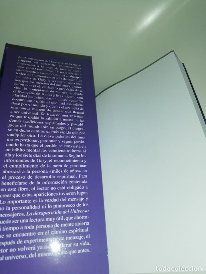 Libros de segunda mano: LA DESAPARICION DEL UNIVERSO - GARY R.RENARD - Foto 3 - 205067562