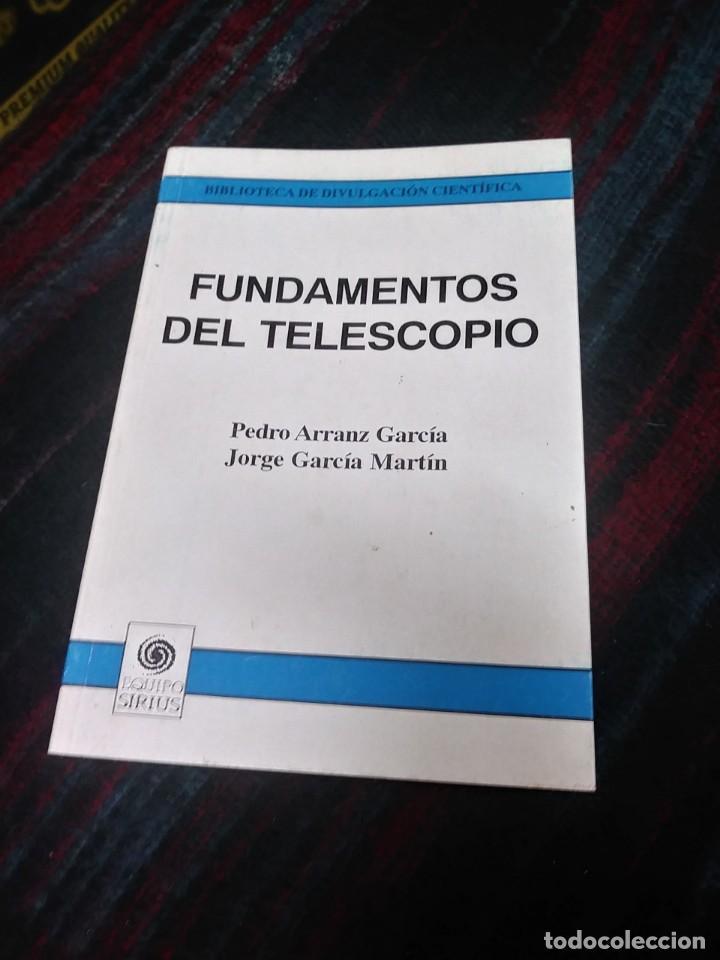 FUNDAMENTOS DEL TELESCOPIO 1995 (Libros de Segunda Mano - Ciencias, Manuales y Oficios - Astronomía)