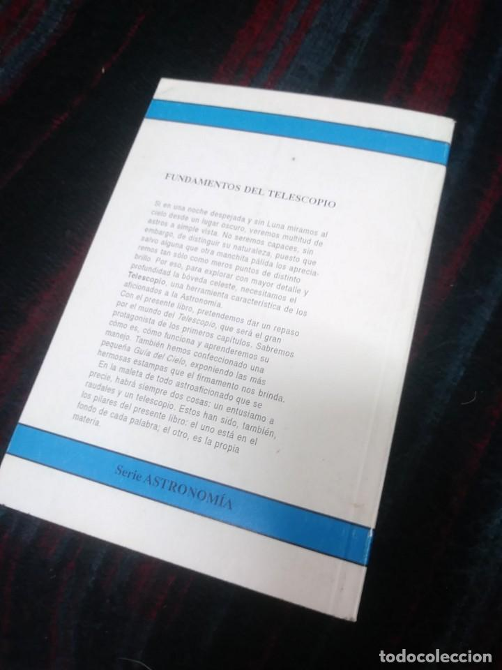 Libros de segunda mano: FUNDAMENTOS DEL TELESCOPIO 1995 - Foto 2 - 205330395