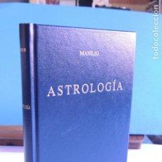 Libros de segunda mano: ASTROLOGÍA.- MANILO (BIBLIOTECA CLÁSICA GREDOS Nº 226). Lote 205363305