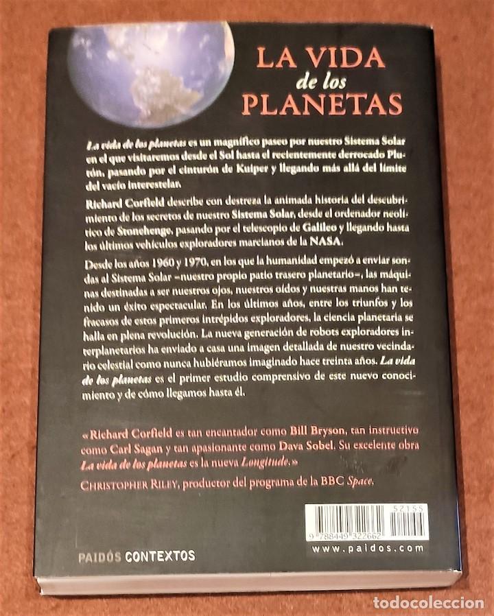 Libros de segunda mano: LA VIDA DE LOS PLANETAS. RICHARD CORFIELD - Foto 5 - 205444140
