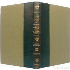Libros de segunda mano: 1962 - LAS TABLAS ASTRONÓMICAS DEL REY DON PEDRO EL CEREMONIOSO - ASTRONOMÍA, EDAD MEDIA, CIENCIAS. Lote 205745685
