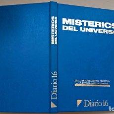 Libros de segunda mano: LIBRO MISTERIOS DEL UNIVERSO. DE LO INFINITAMENTE PEQUEÑO A LO INFINITAMENTE GRANDE DIARIO 16. Lote 206410726