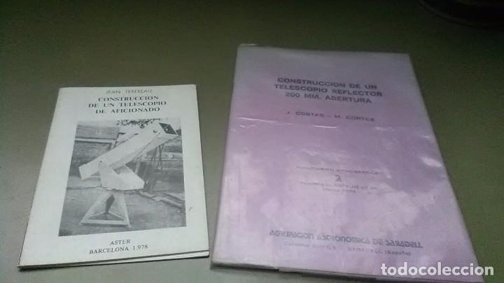CONSTRUCCIÓN TELESCOPIO (Libros de Segunda Mano - Ciencias, Manuales y Oficios - Astronomía)