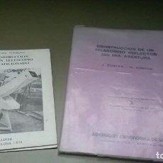 Libros de segunda mano: CONSTRUCCIÓN TELESCOPIO. Lote 206812483