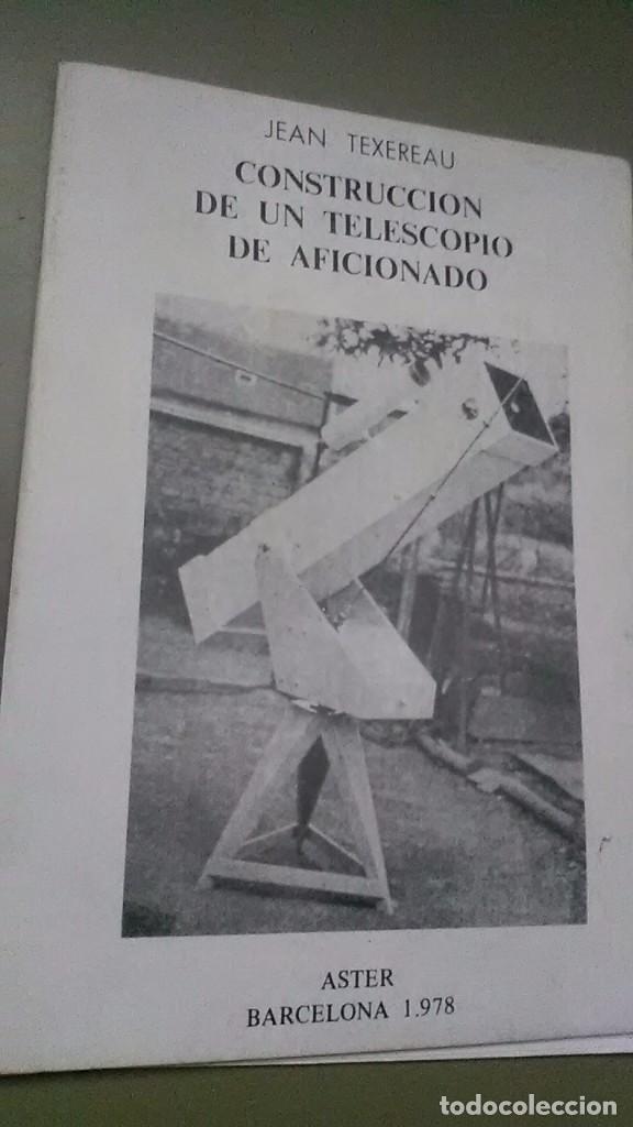 Libros de segunda mano: Construcción telescopio - Foto 2 - 206812483